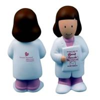 FEMALE PHYSICIAN Stress Ball