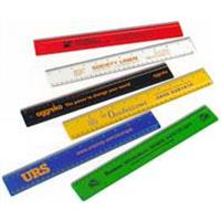 "12""/30cm Solid Plastic View Ruler"