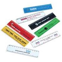 "6""/15cm Solid Plastic View Ruler"