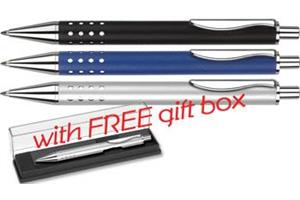 Techno Metal Ballpen (Supplied with free Gift Box)