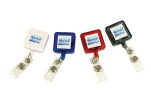 Square Retractable Pass Holder