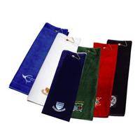 Luxury Tri-Fold Velour Towel