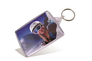 Wallet Keyring - Clear