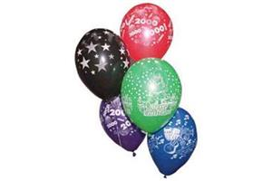 10 Latex Balloons Low Quantities