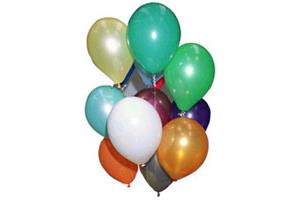 "11"" Metallic Latex Balloons"