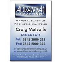 Full Colour Business Cards - GLOSS Laminated 1 side
