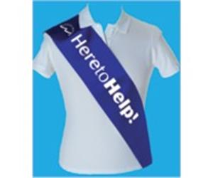 Printed Sashes - Promotional / Hen Sashes