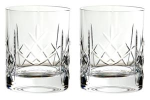 Pair Of Fully Cut Crystal Tumblers