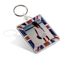 Fashion Photo Passport Keyfob