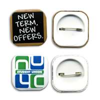 32mm Button Badge Square