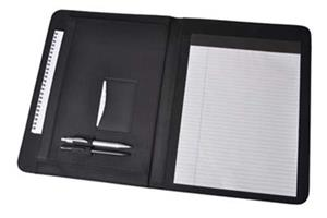 Micro Conference Folder With Zip Pocket