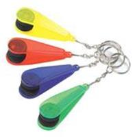 Lens Cleaner Key ring