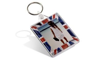 Fashion Keyring - Clear