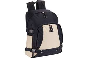 Rucksack with front pocket