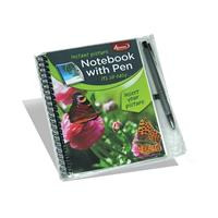 "Note Book & Pen 5 x 7"" Photo Insert"