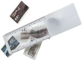 Bookmark Ruler With Magnifier