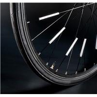 3M reflective strips for bicycle spokes.