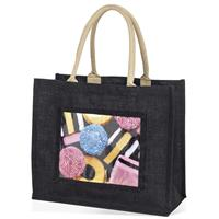Large Jute Bag - Black