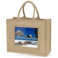 Large Jute Bag - Natural