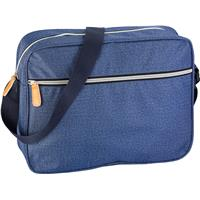 Polyester (300D) laptop bag.