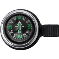 Bicycle bell with compass.