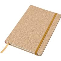 Notebook with a PU cork effect cover.