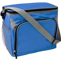 Cooler bag made from 600D polyester.