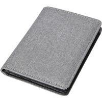 Credit card holder with RFID protection.