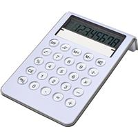 Plastic 8 digit desk calculator.