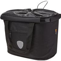 Bike basket, 20-litre capacity.