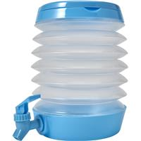 Collapsible folding beverage dispenser.