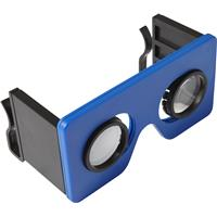 Foldable plastic virtual reality glasses.