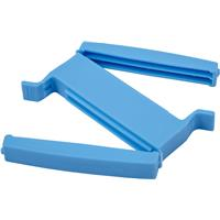 Plastic 2 bag sealing clip with a magnetic closing.