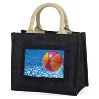 Mini Jute Bag - Black