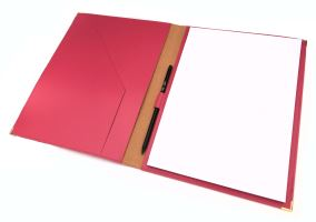 A4 Bonded Leather Conference Folder