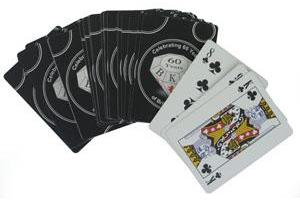 Printed Playing Cards - Casino Standard
