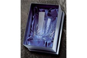 Satin lined box for tumblers