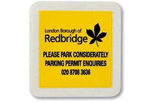 Square Tax Disc Holder