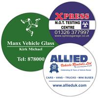 Round Window Stickers Up to 65sq cm