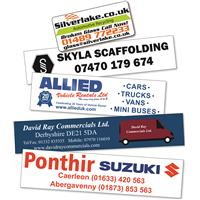 Rectangle Window Stickers up to 65sq cm