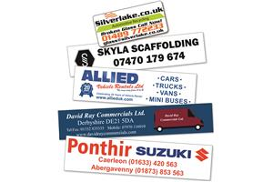 Extra Large Rectangle Window Stickers 201 To 260Sq Cm